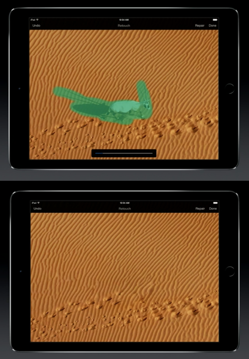 Oryx Demo at Apple Event 2014/11/16